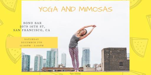 Yoga and Mimosas