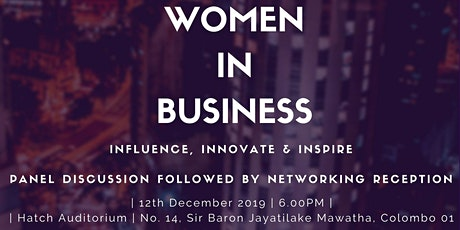 Women Leaders in Business: Influence, Innovate & Inspire tickets