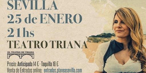 Mara Miranda presenta su nuevo disco en El Teatro de Triana