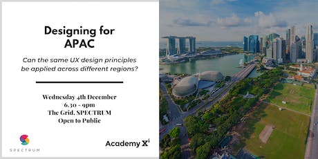 Designing for APAC tickets