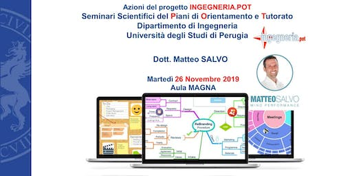 Strategie di Apprendimento per lo Studio Universitario - Matteo Salvo