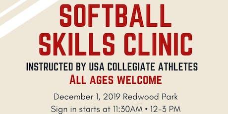 Softball Skills Camp tickets