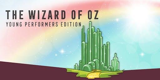 The Wizard of Oz -  CAST BLAUW