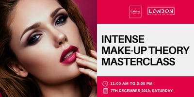 Intense Make-Up Theory Masterclass - LCA Capital Make-Up School