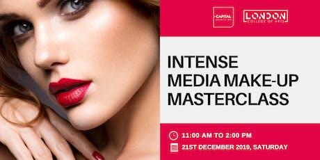 Intense Media Make-Up Masterclass - LCA Capital Make-Up School tickets