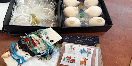 Christmas Crafting (Rishton) #xmasfun