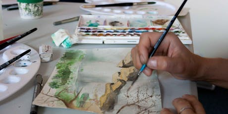 Abstract Watercolours Day Workshop tickets
