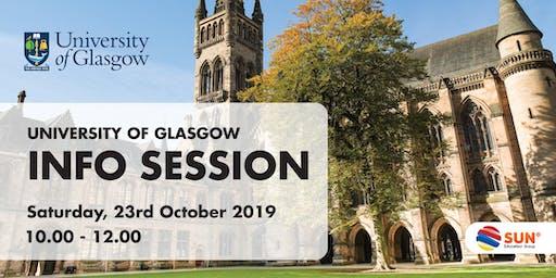 University of Glasgow Info Session Jakarta