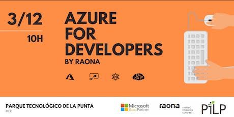 Azure For Developers - Mañana entradas