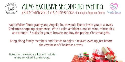Ladies exclusive xmas shopping evening