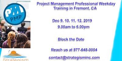PMP weekdays Bootcamp in San jose-Dec-9,10,11,12-2019