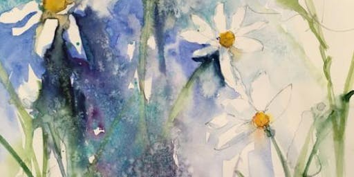 Spring Flowers in Inks & Watercolour  Day Workshop