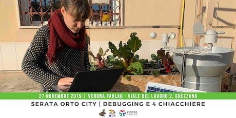 Orto City   Debugging, e quattro chiacchiere su LoRA! biglietti