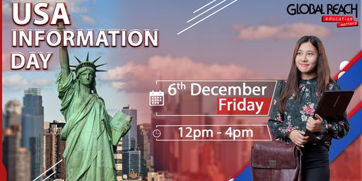USA Information Day @ Global Reach Office