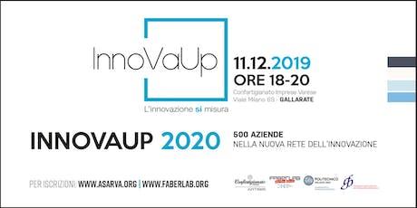 InnoVaUp 2020: 500 aziende nella nuova rete dell'innovazione biglietti