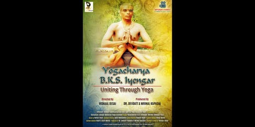 Private film screening of 'Yogacharya B.K.S. Iyengar: Uniting through Yoga'