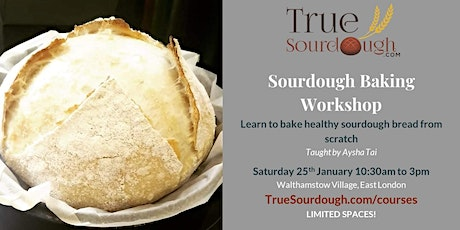 Sourdough Baking Workshop tickets
