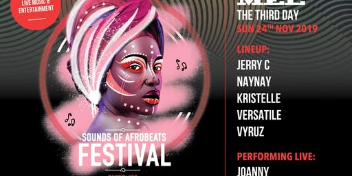 Sounds of AfroBeats Festival Melbourne - Sunday No