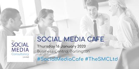 Darlington Social Media Cafe: January 2020 tickets