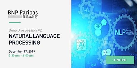 DeepDive #2 : Nature Language Processing - BNP Paribas Plug and Play billets