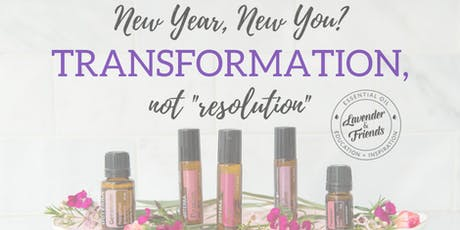 New year, new you- creating transformation ONLINE CLASS tickets