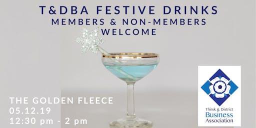 T&DBA Festive Drinks at  The Golden Fleece