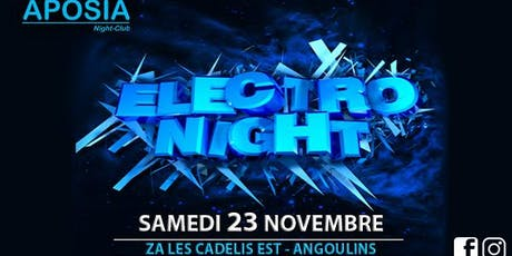 ELECTRO NIGHT billets