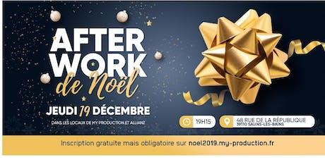 "Afterwork des Entrepreneurs spécial ""Noel"" tickets"