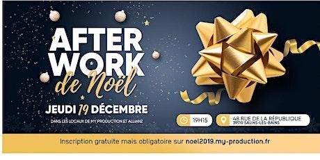"""Afterwork des Entrepreneurs spécial """"Noel"""" billets"""