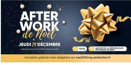 """Afterwork des Entrepreneurs spécial """"Noel"""""""