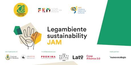 Legambiente Sustainability Jam | reshaping MOvida biglietti