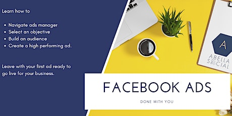 Beginner Facebook Ads - Ads done with you tickets