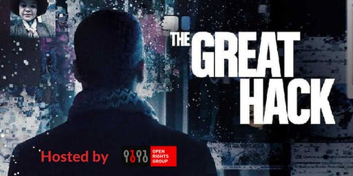 ORG Newcastle: Free screening of the Great Hack