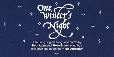 One Winter's Night... tickets