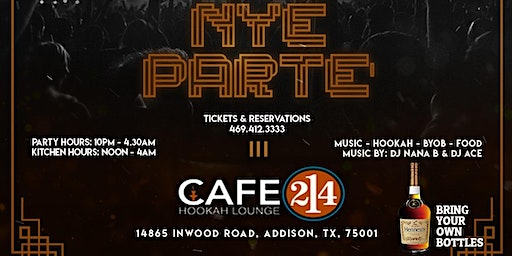 NEW YEARS EVE PARTE' / PARTY - 2020 VISION