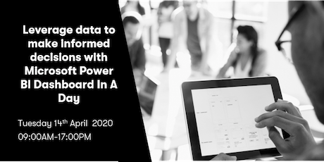 Leverage data to make informed decisions with Power BI Dashboard-in-a-Day tickets
