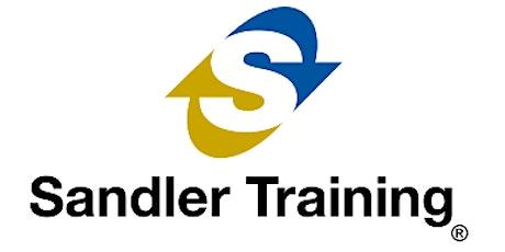 Sandler Sales Bootcamp: Start Fast in 2020 tickets