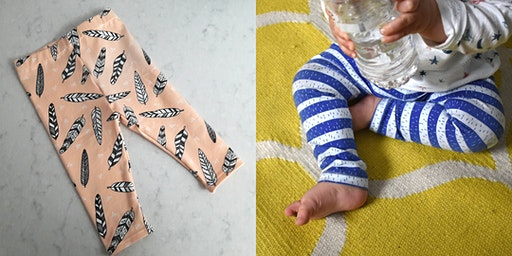 Sew your own baby/toddler leggings