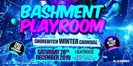 Bashment Playroom - Shoreditch Carnival tickets