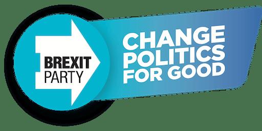 The Brexit Party General Election Tour