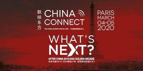 CHINA CONNECT Paris 2020 billets