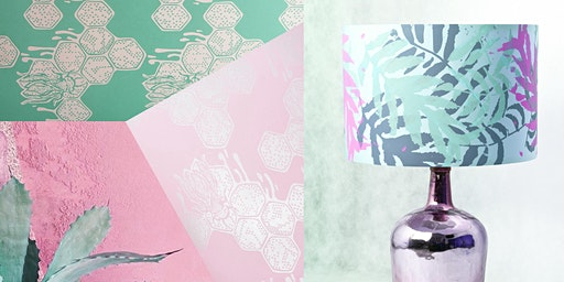 Print & assemble a Lampshade in a day - Creative printing onto fabric