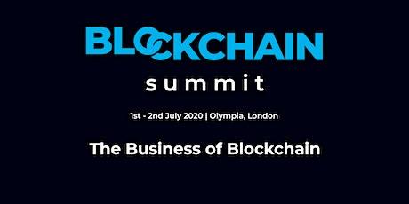 Blockchain Summit London 2020 tickets
