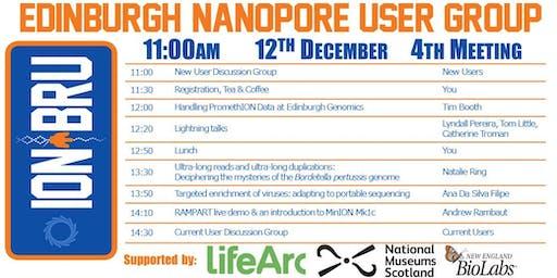 4th Edinburgh Nanopore User Group (ION_BRU) Meeting