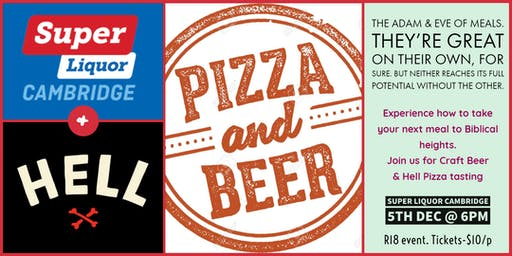Craft Beer & Hell Pizza Pairing