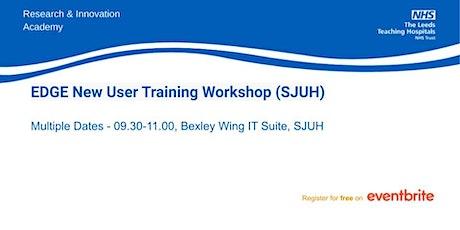 EDGE New User Training Workshop (SJUH) tickets