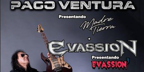 Paco Ventura + Evassion entradas