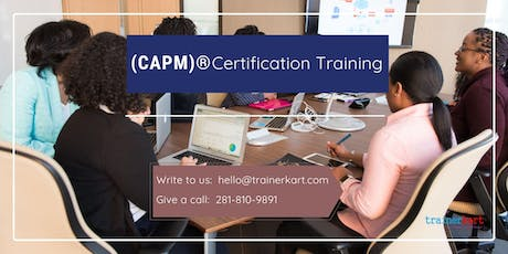 CAPM Classroom Training in Prince George, BC tickets