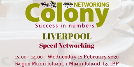 Colony Speed Networking (Liverpool) - 12 Feb 2020 tickets