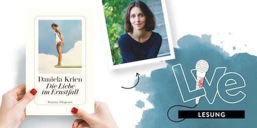 LESUNG: Daniela Krien